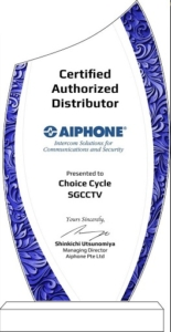 AIPHONECHOICECYCLECCTVAUTHORISATIONDISTRIBUTION