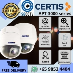 CCTV Singapore Certis Cisco PTZ APT3000 Analog