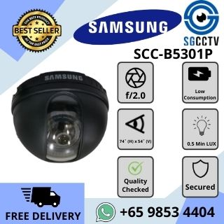 CCTV Singapore Samsung Camera SCC-B5301P Dome Analog
