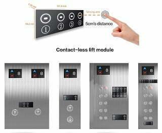 Contactless Lifts Elevator Sensor Solution Internal External