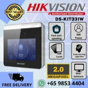 Door Access Hikvision Singapore DS-K1T331W