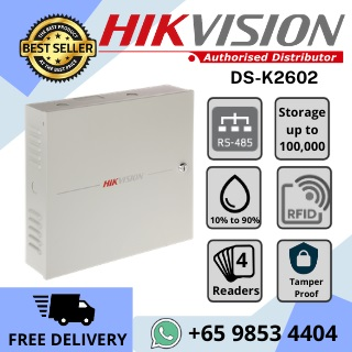 Door Access Hikvision Singapore DS-K2602
