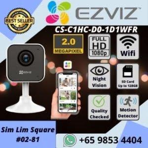 IP CAMERA SINGAPORE EZVIZ C1HC WIFI CAMERA