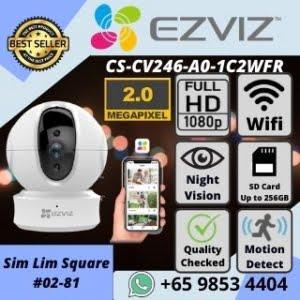 IP CAMERA SINGAPORE EZVIZ C6CN WIFI CAMERA