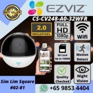 IP CAMERA SINGAPORE EZVIZ C6TC WIFI CAMERA