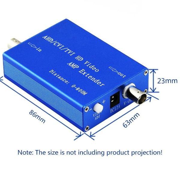 P P HD AHD CVI TVI Signal Amplifier Coax Video Extenderr