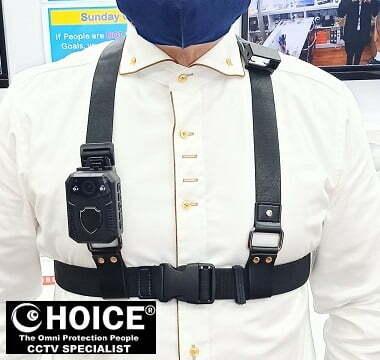 Body Worn Camera Chest Harness Shoulder Harness Security Officer Enforcement Team 1