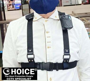 Body Worn Camera Chest Harness Shoulder Harness Security Officer Enforcement Team 2
