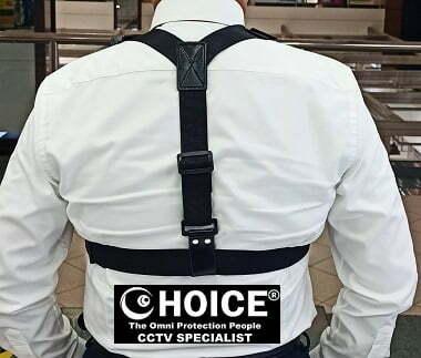 Body Worn Camera Chest Harness Shoulder Harness Security Officer Enforcement Team 4