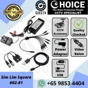 CCTV Accessories Singapore Power Supply