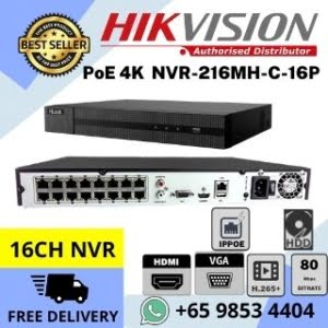 CCTV NVR HIKVISION DS-7616NI-Q216P 16 Channel 16PoE NVR