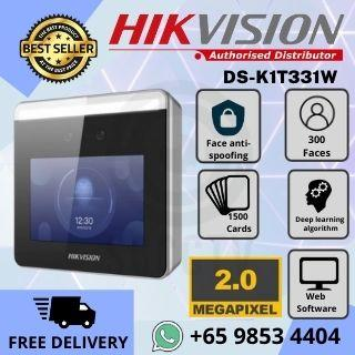 Hikvision DS-K1T331 Face Access Terminal Facial Recognition Access Control Time Attendance Software