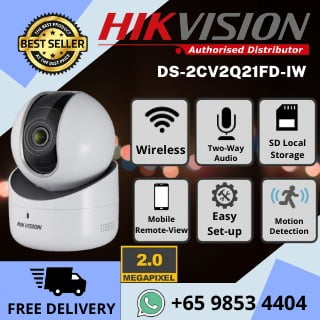 HIKVISION Wireless IP Network Camera 2MP 1080P Full HD Pan Tilt 360 degree Smart Tracking Hik Connect
