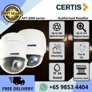 CCTV Singapore Certis Cisco PTZ APT3000 Analog