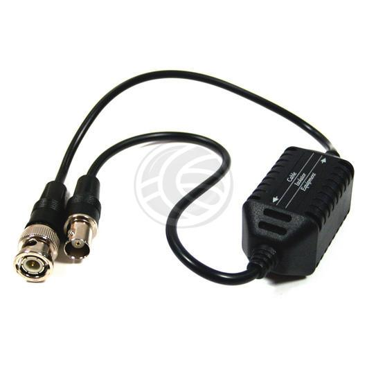 coaxial video ground loop isolator