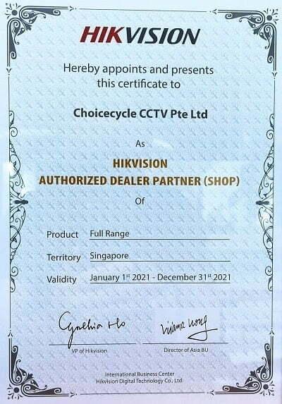 Hikvision Choicecycle Distribution Authorisation 2021s
