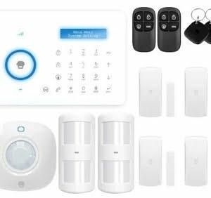 Wireless Alarm System Touch Keypad Smart Home Burglar Alarm System Motion Sensor PSTN Chuango A11 Local Warranty