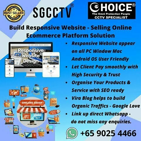 Build Responsive Website for your online business - Selling Online Ecommerce Platform Solution MultiChannel Easy as ABC!!