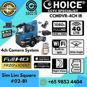 Car Bus Lorry Truck Camera Volvo Scania BMW Mercedes CCTV Onsite Installation Logistic Prime Mover Live Track 3G 4G LTE PC Mobile APP Android Apple iOS