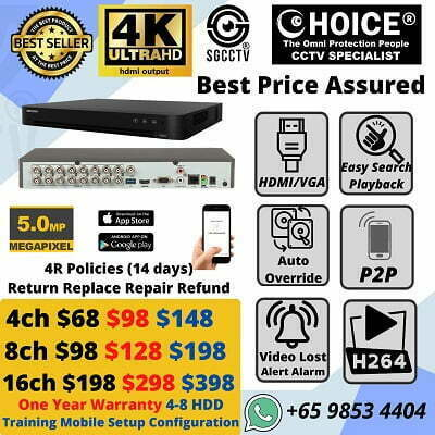 Cheapest CCTV Camera Lowest Price Guarantee High Quality cctv cameras For your Home Offices Shop Warehouse Factory Schools Condo MCST in Singapore SGCCTV
