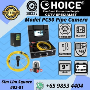 Pipe Camera System Pipe Inspection Endoscope Camera for Sewer Inspection Water supply pipeline Air conditioner Rescuing work Underground cave exploration Underwater research